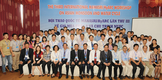 The Third International MAHASRI/HyARC Workshop in VietNam