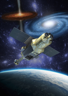 Hitomi (ASTRO-H) x-ray astronomy satellite supplied by JAXA
